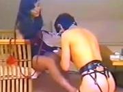 【VHS古動画】 本物女王様の言葉責めが凄い!女装マゾ調教!