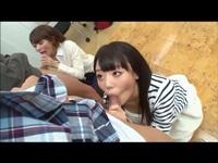 童貞弟と美人姉 キス&フェラ講習