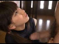 正統派美少女が黒のレオタードを着たまま淫語手コキにアナルまで舐める 成宮ルリ