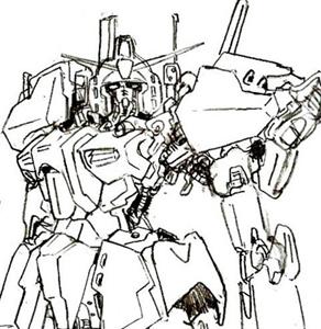 Zガンダム MKII 01