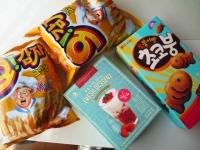 韓国のお菓子いろいろ