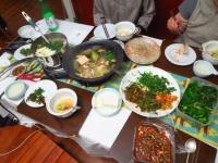 野菜たっぷり 韓国料理
