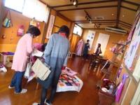 宇美町 ポジャギ教室展示会