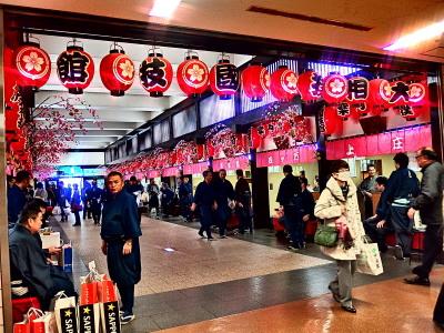 東京場所ではここは相撲茶屋経由でチケットを購入した人でないと用事のないエリア。