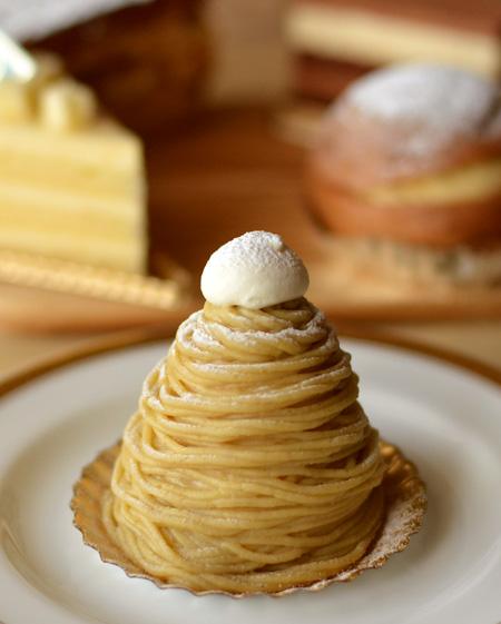 【ケーキ】ビガロー「モンブラン」03
