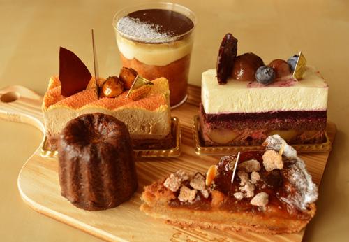 【ケーキ】レザネフォール_20150308 (1)