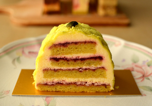 【ケーキ】パクタージュ「シトロンヴェール」
