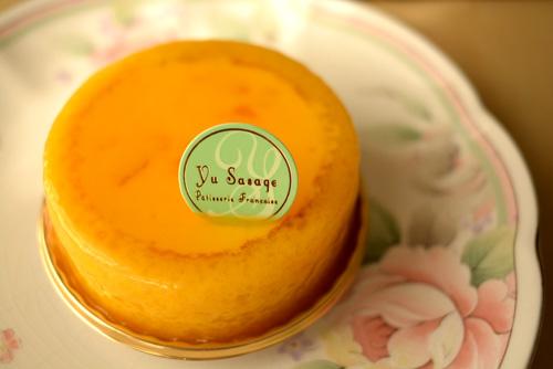 【ケーキ】ユウササゲ「バレンシア」