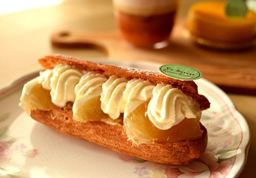 【ケーキ】ユウササゲ「エクレール小夏リコッタ」02