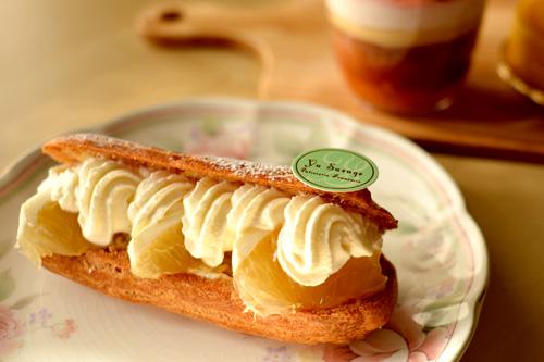 【ケーキ】ユウササゲ「エクレール小夏リコッタ」03