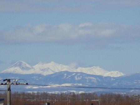 阿寒の山々