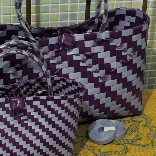 プラカゴ、ジグザグ編み