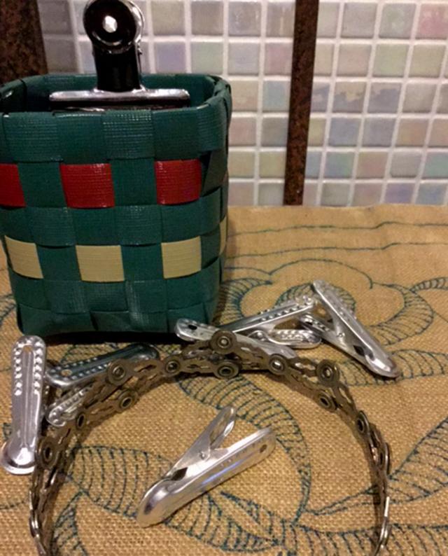 プラかご作りの道具