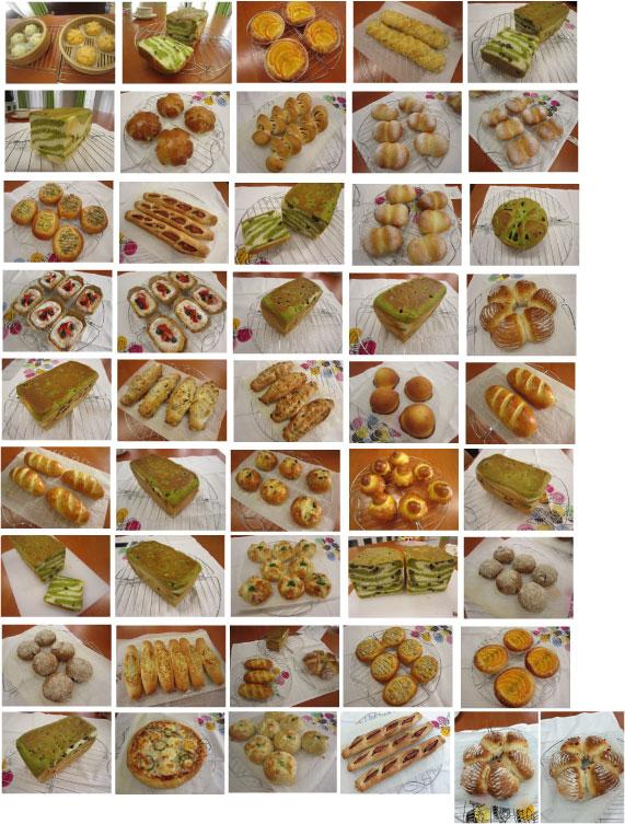 2015-4月生徒さんのパン