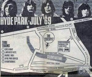 hyde park 1969
