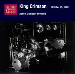 king crimson Glasgow