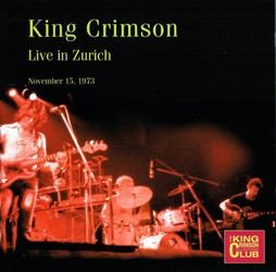 king crimson zurich