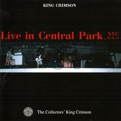 live in central park 1974