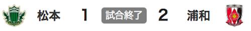 711松本1-2浦和