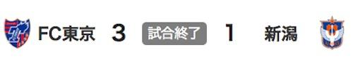 711東京3-1新潟