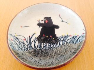 くまモンお皿