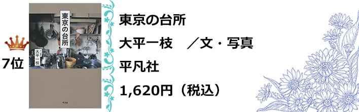 七位東京の台所