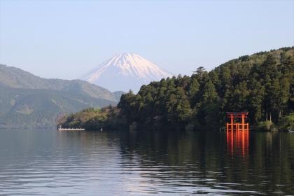箱根神社 富士山