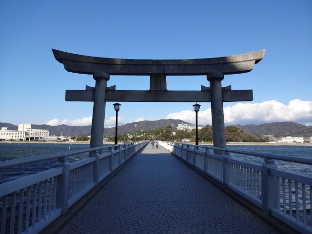 竹島から戻る
