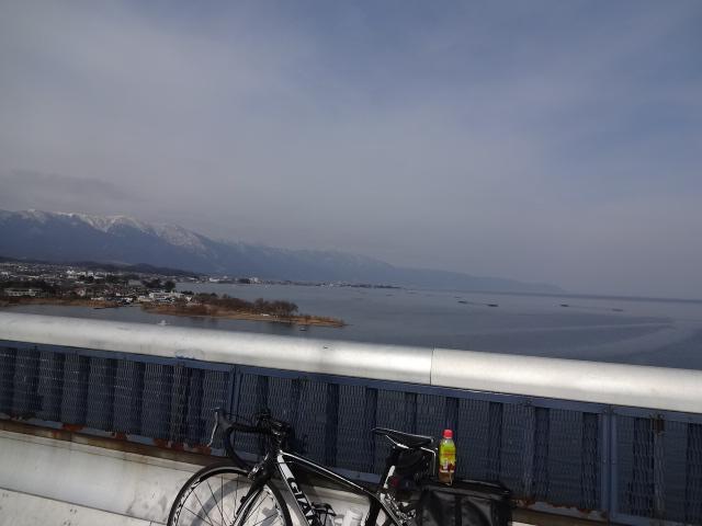 琵琶湖大橋で敗北感