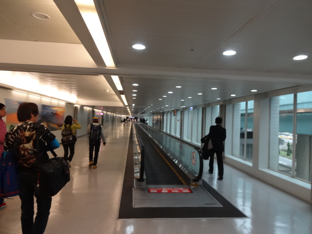 長いターミナル