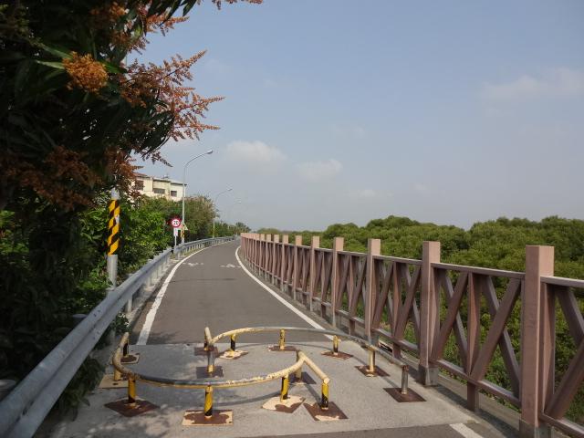安平のサイクリングロード
