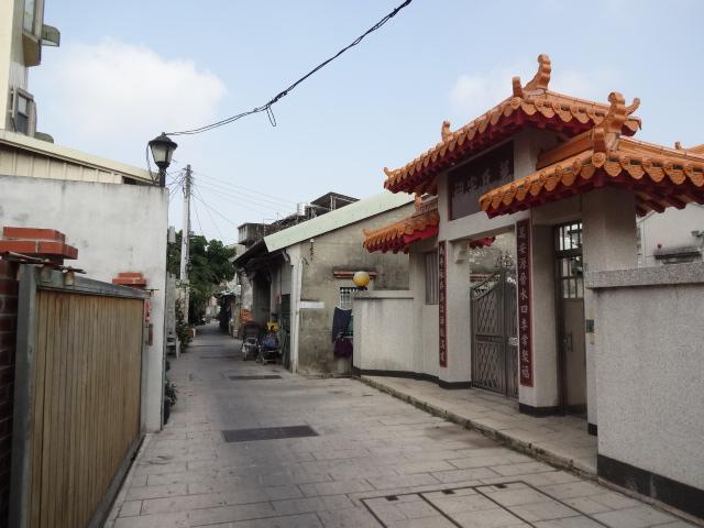 安平の古い街並み