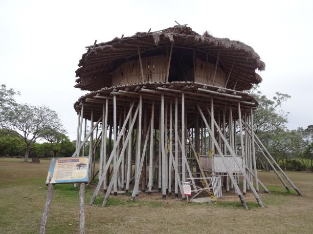 民族風の家