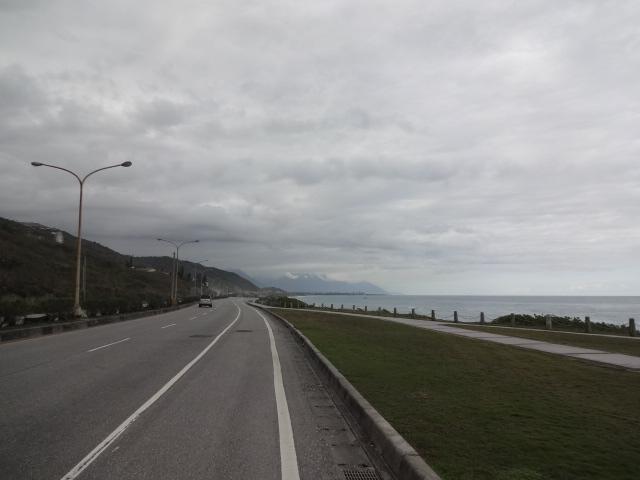 再び海岸線