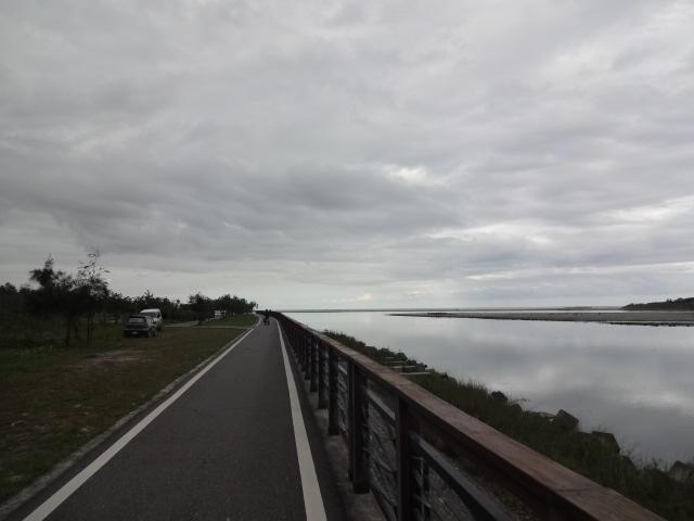 河口のサイクリングロード2