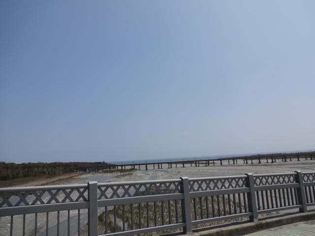 立霧渓 太魯閣大橋 河口方面