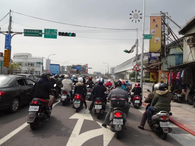 バイク増える