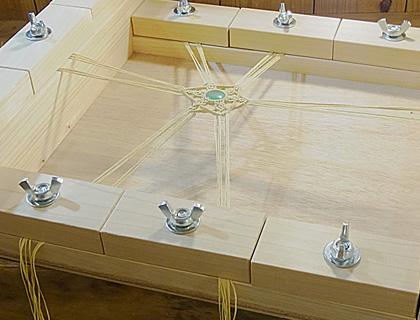 マクラメ編み台03
