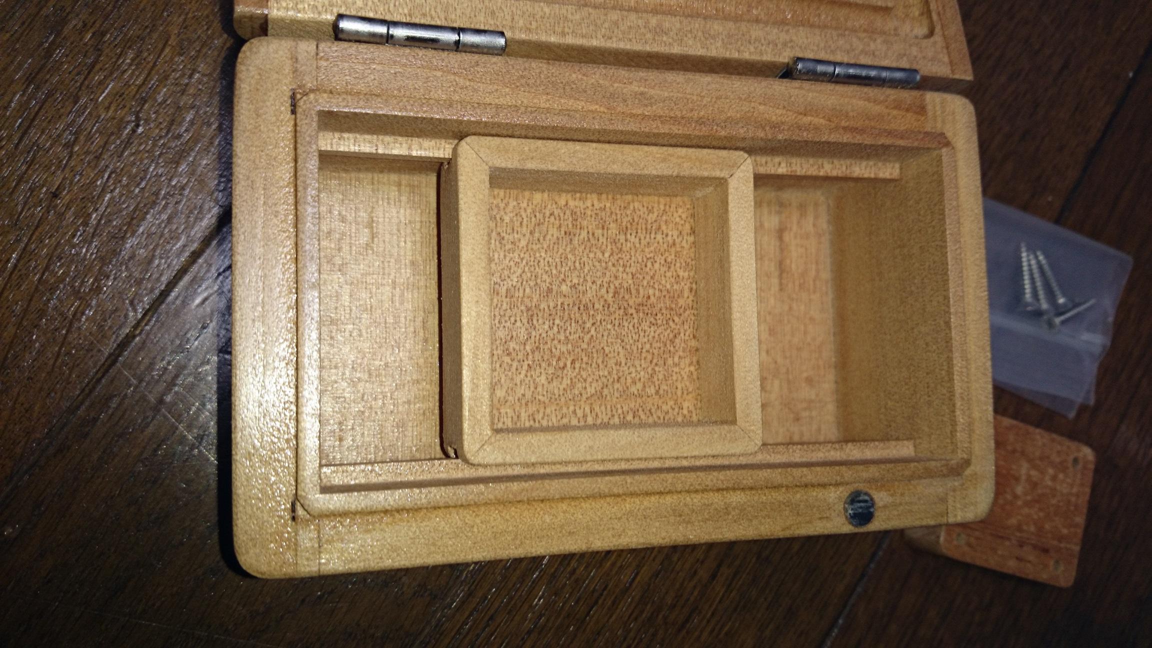 石粉室付餌箱2
