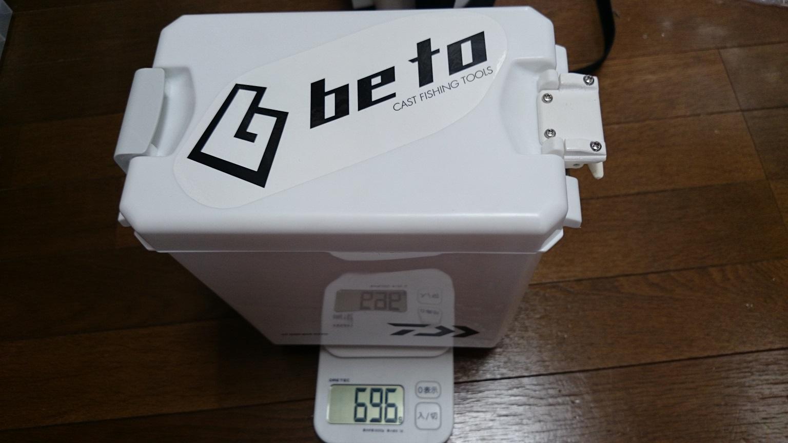 CPサイドBOXハード改 計量