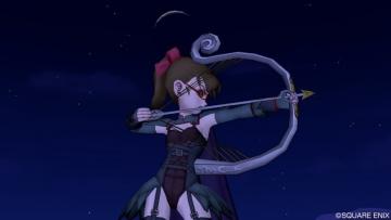 弓魔戦のシマシマさん