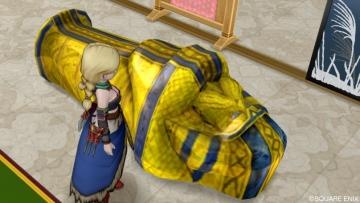 黄金の棺おけ風ベッド1