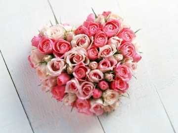 ハートの薔薇