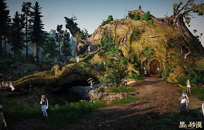 基本プレイ無料のノンターゲティングアクションRPG『黒い砂漠』 アップデート「神樹の宿りし聖域」の情報を公開したよ~!! 新作オンラインゲーム情報EX