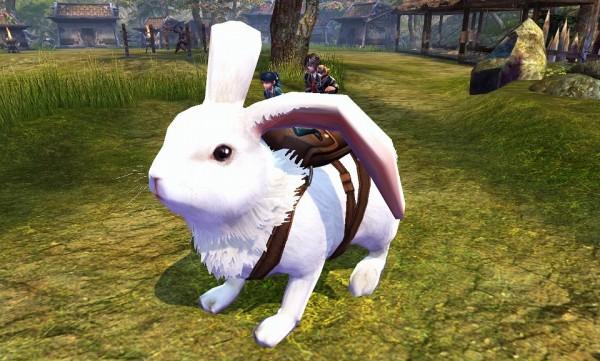 連撃アクションオンラインゲーム『バンドラ』 恋の季節はハプニングで大忙し!?騎乗アイテム「白ウサギ」の進化用アイテムが手に入るバレンタインイベントを開催!!