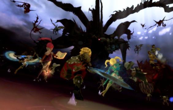 基本プレイ無料の爽快3Dアクションバトル 『ドラゴンネスト』