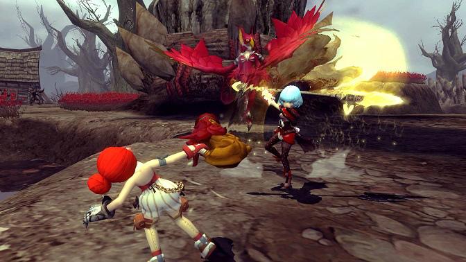 ノンターゲティングアクションRPG『ドラゴンネスト』 新しい試合形式の大規模戦場「ランブルモード」を実装!!