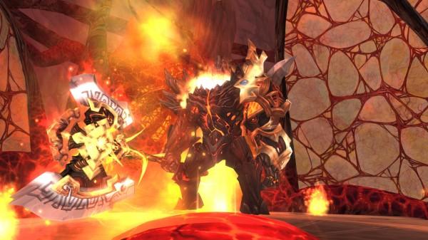 人気のアニメチックファンタジーオンラインゲーム『幻想神域』 新ダンジョン「天空幻境」「炎の魔王ダンジョン」を実装だ!!