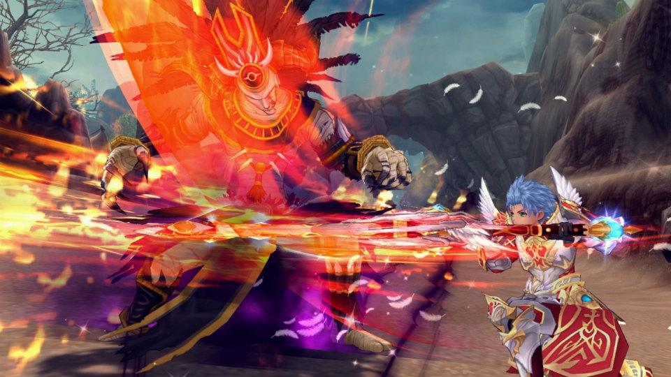 人気のアニメチックファンタジーオンラインゲーム『幻想神域』 新武器「聖剣」12月24日(水)に実装だ!
