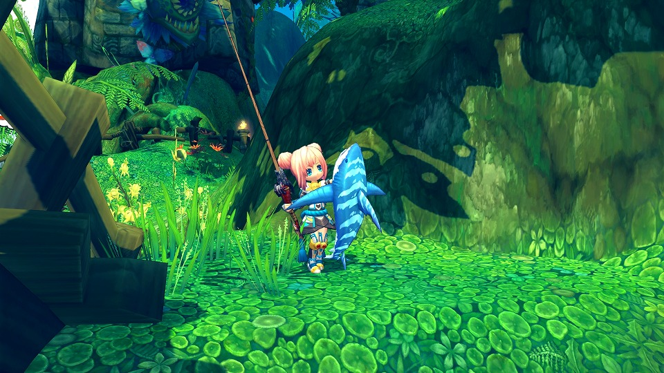 人気のハンティングファンタジーMMORPG『ハンターヒーロー』 大魚を釣ってかわいいパートナーを手に入れよ!新コンテンツ「釣システム」3月12日に実装だ!!